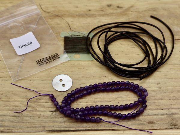 Gemstone Wrap Bracelet Kit